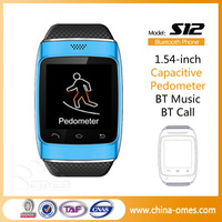 2014 Unlocked Capacitive Touch Screen Smart Watch Mobile Phone
