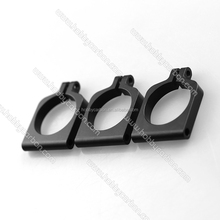 HCC010 Black Anodized Aluminum Movable Tube Clamps for M3 Round Tube/Pipe