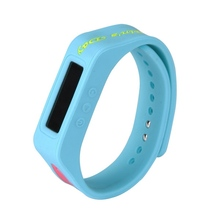 fashion oem vibrating silicone wristband bracelet