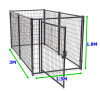 Welded wire dog kennel panels / Dog Houses