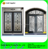 2014 New Wrought Iron French Door Inserts Design
