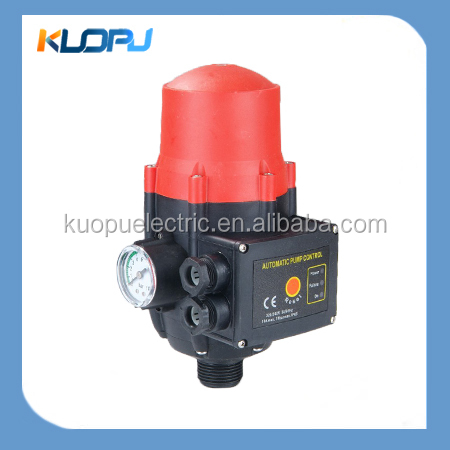 how to connect pressure switch to pump