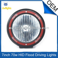 35W/55W/70W HID working light moto SUV/4X4 off road truck forestry machinary marine lamp