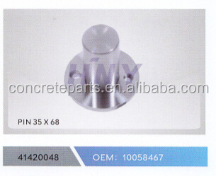 new style CONCRETE style PIN for schwing concrete pump spare parts