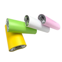 18650 Battery cell power bank charger with Smile Face 5200mah