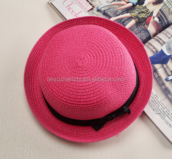 Fashion Girls Panama Straw Hat