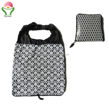 New Fashion high quality Recycle printing bigger nylon folding shopping bags tote bag foldable shopper bag