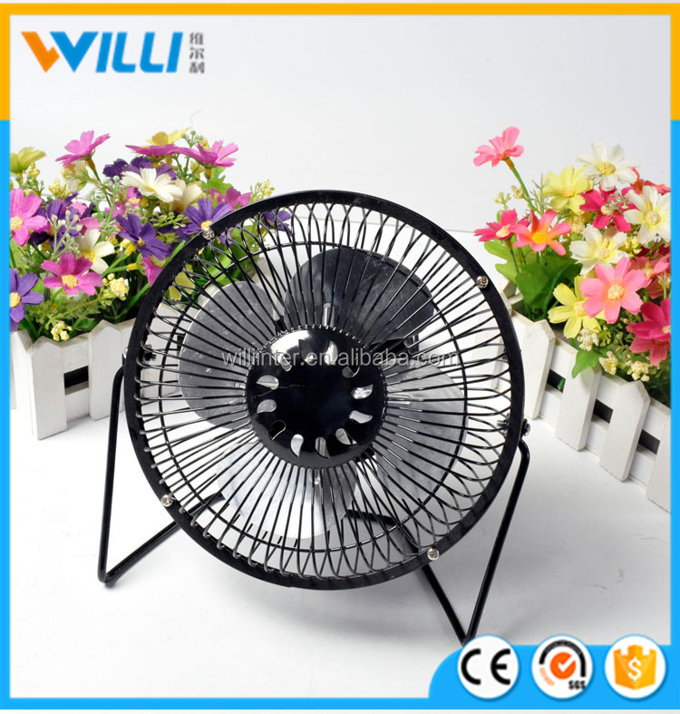 6 inch pure electric usb mini clip table air cooling fan