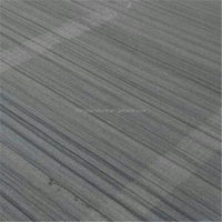 Polished China Black Wood Sandstone