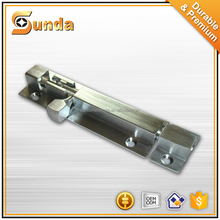 stainless steel Lever action surface mounted door bolts