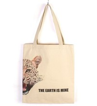 customized full color cotton shopping bag