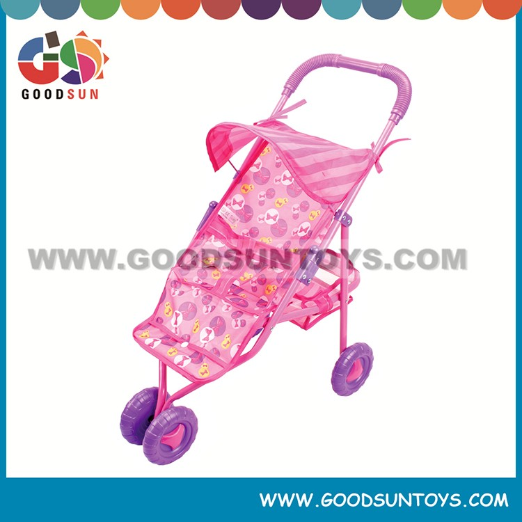 Hot Selling dolls cart for kid toy baby stroller baby pram factory