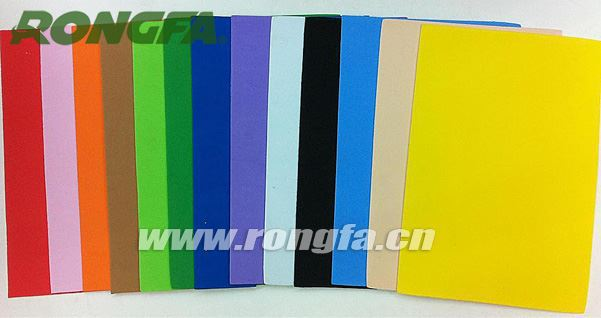 china Manufacturer craft curly foam sheets