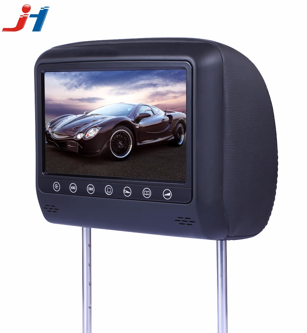 Auto Rear seat entertainment 9 inch lcd car headrest monitor