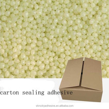 ROCKY hot melt paper carton tissue box closing carton sealing adhesive glue