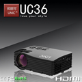 2017 Dowlab Factory hot wholesale OEM ODM TV Projector HDMI projector UC36