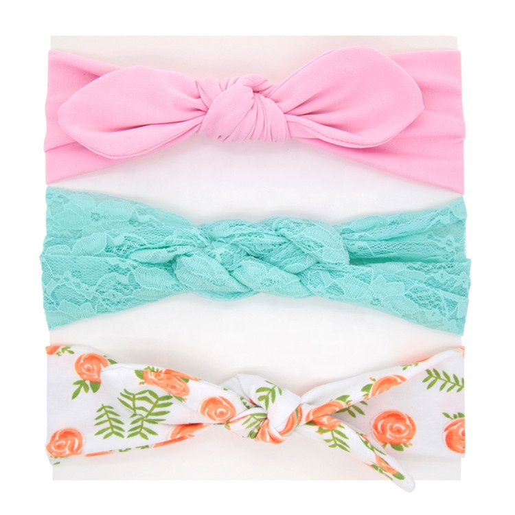 Infant manufacturer Girls hair accessories wholesale bow tie baby <strong>headband</strong>