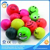 Funny Lovely Colorful Emoji Rubber Bouncing ball