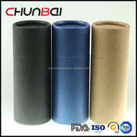 Black Paper Box Tube For Gift