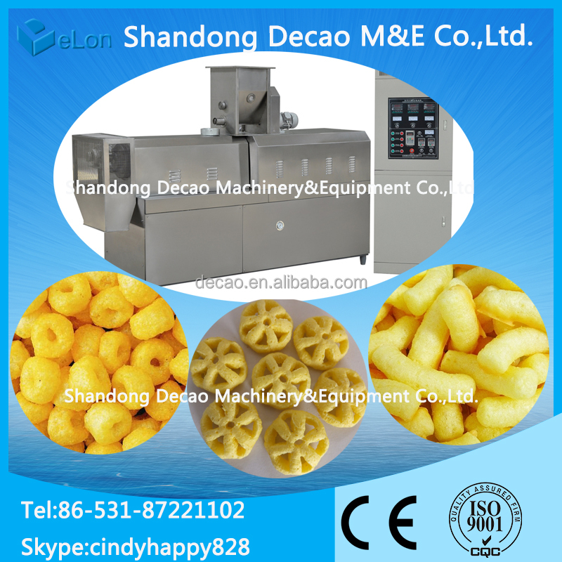China manufacturer Corn puffs snacks machine from Jinan Arrow manufactures