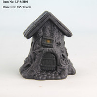 Resin miniature house decoration