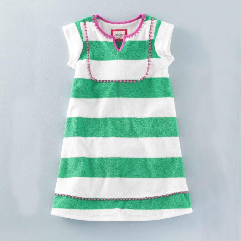 Wholesale Children'S Boutique Clothing Striped Girl Dress Summer Baby Clothes