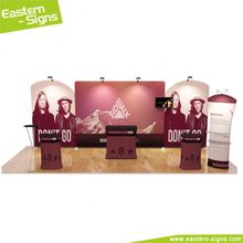 China supplier aluminum advertising display convenient exhibition booth design software