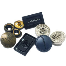 Man Brand Blue Design Zamak Combination Marine Studs Fasteners Square Metal Snap Button For <strong>Wallet</strong>