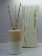 Wholesale 120ml Scent Reed Diffuser In Fragrance Room Freshener Glass Bottle