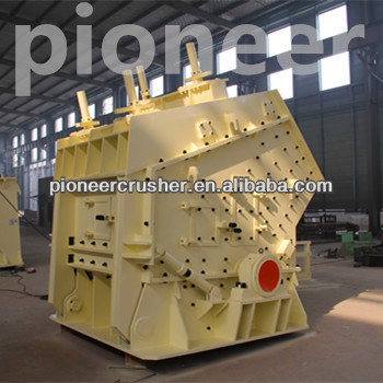 Stone Impact Crusher got many certifications can crushing hard and soft rock.