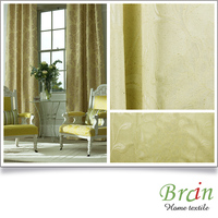 neoclassic polyester jacquard voile curtain jacquard sheer linen fabric