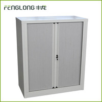 cheap office furniture steel 2 roller shutter door storage file cabinet used metal lateral filing cabinet with sliding door