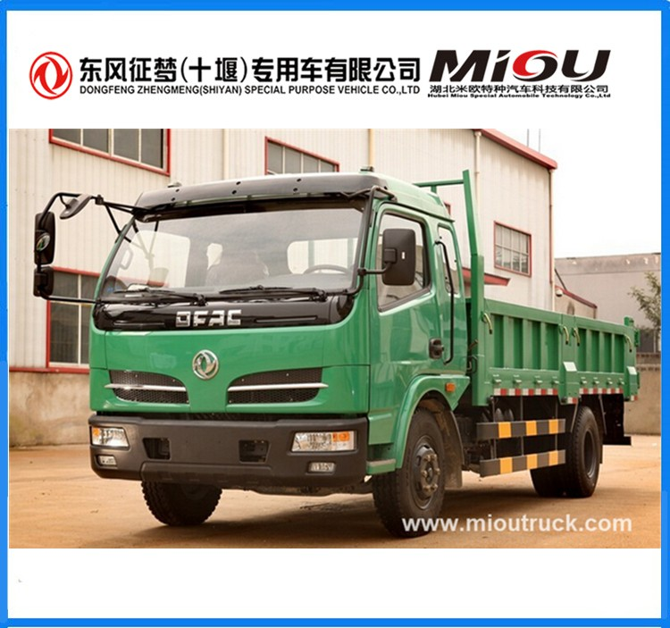 Leading Brand Dongfeng 4X2 5T small dump truck made in china with factory price