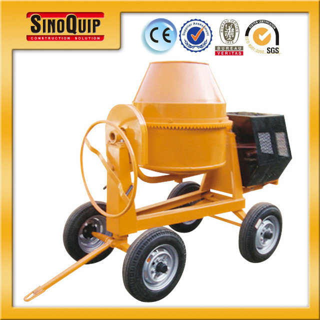 Model SM350 Manual Push 7HP Diesel Engine Powered Cement Mixer For construction Work