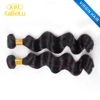 KBL sell used remy 60 inch long hair extensions,weight 400 grams human hair,raw material for hair extension
