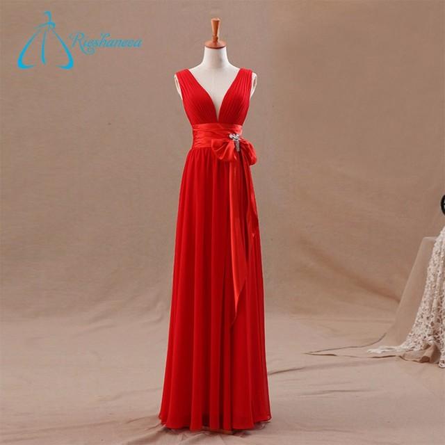Classy Custom Made Real Photos Long Bridesmaid Dress Online
