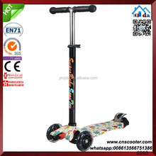 3 in 1 Mini 3 Big Wheel Adult Kick Scooter For Adults