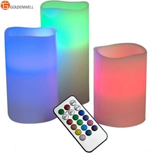 Remote Control Color Changing LED Candle Lights