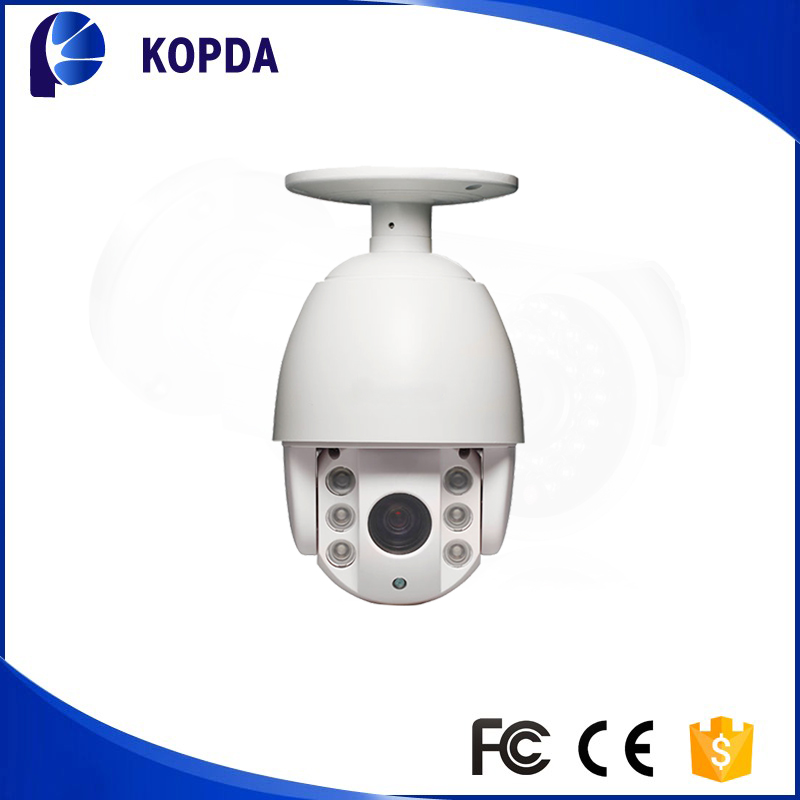 High quality outdoor H.264 2.0 Mega Pixel CMOS IP66 dome ptz ip camera