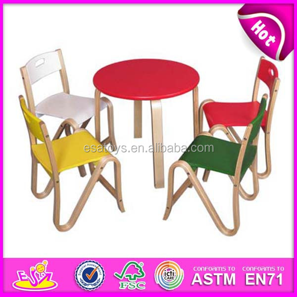 Dining Table And Chair For Kids Wooden Toy Children Dining Table