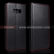 Handmade Leather Case for Samsung S8 Plus Wallet Cover