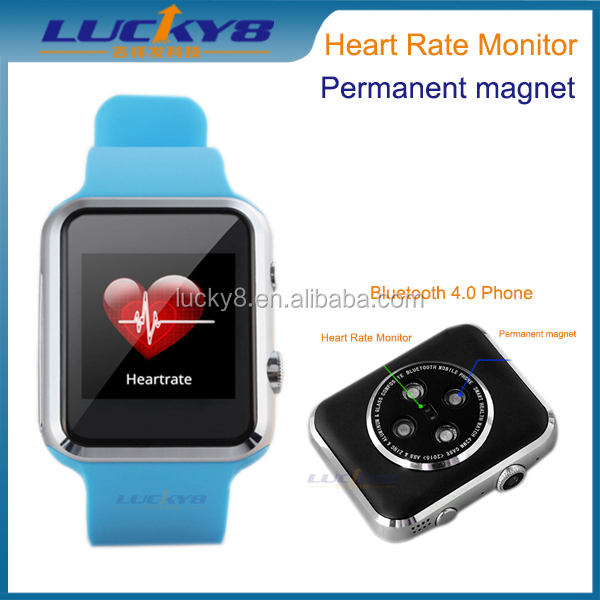 A9S smart watches blood pressure control watch, real time of heart rate detect watch support GSM/GPRS,Black watch