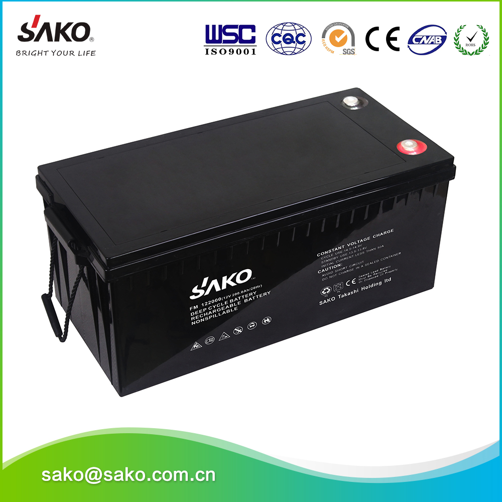 Hot Sale Solar Products , Rechargeable Solar Battery Used For UPS