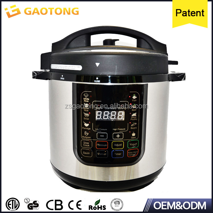 20 programmable cooking functions over heating protection safety locked lid Electric Pressure Cooker 4L 5L 6L 8L 10L 12L