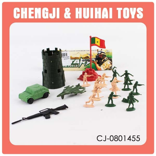 Kids Plastic small action figures toy soldiers for sale
