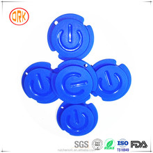 Blue Soft Silicone Button Cover For Telecontroller