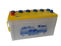 Good quality latest korea dry battery 6-QA-105 12v100AH