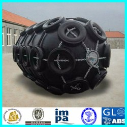 Marine Floating rubber Fender with galvanized chain and tire