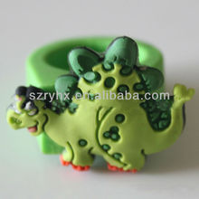 Novelty high quality cheap pvc cartoon animal finger ring