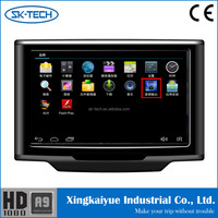 "Made in China 10.1"" Touch Screen Car Headrest Mount Portable Dvd Player with tv"